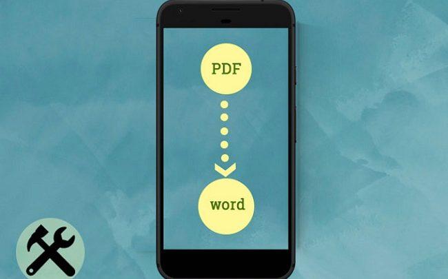 روش های تبدیل pdf به word